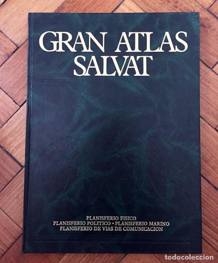 Enciclopedias de segunda mano: GRAN ATLAS SALVAT EDICIÓN 1985 COMPLETA - Foto 2 - 71450759