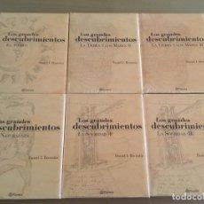 Enciclopedias de segunda mano: LIBROS ENCICLOPEDIA GRANDES DESCUBRIMIENTOS. Lote 72138335