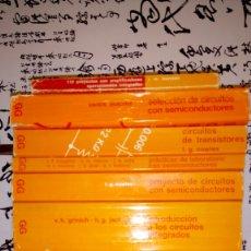 Livros em segunda mão: ANTIGUA COLECCIÓN COMPLETA LIBROS SEMICONDUCTORES. Lote 72165022