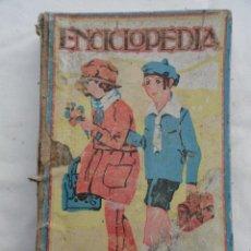 Enciclopedias de segunda mano: LIBRO ENCICLOPEDIA. ED. DALMAU CARLES PLA. AÑO 1939.. Lote 72700195
