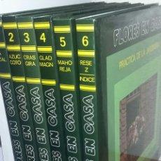 Enciclopedias de segunda mano - Flores en casa - 6 tomos completa - burulan - arm02 - 147398810