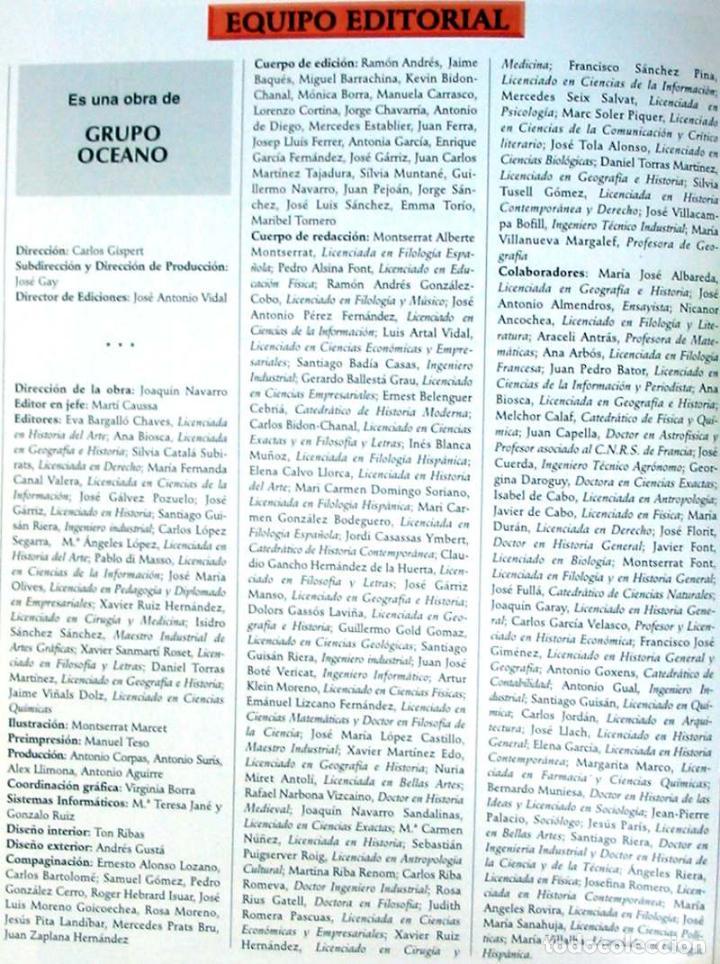Enciclopedias de segunda mano: GRAN ENCICLOPEDIA INTERACTIVA OCEANO - ADAPTADA A LA LOGSE - 16 + 2 TOMOS - 4136 PÁGINAS - VER - Foto 4 - 74325967