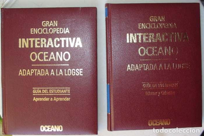 Enciclopedias de segunda mano: GRAN ENCICLOPEDIA INTERACTIVA OCEANO - ADAPTADA A LA LOGSE - 16 + 2 TOMOS - 4136 PÁGINAS - VER - Foto 13 - 74325967