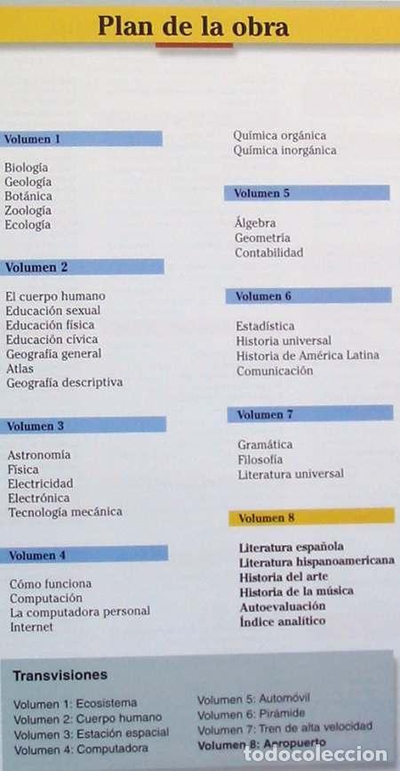 Enciclopedias de segunda mano: NUEVA AUTODIDÁCTICA - ENCICLOPEDIA TEMÁTICA UNIVERSAL OCEANO - 8 TOMOS - 2400 PÁGINAS - VER - Foto 3 - 74330055