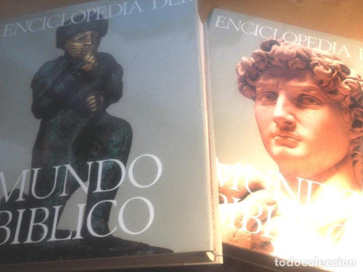 ENCICLOPEDIA DEL MUNDO BÍBLICO- TOMOS I Y II- PLAZA JANÉS- 1970 (Libros de Segunda Mano - Enciclopedias)