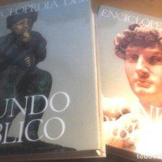 Enciclopedias de segunda mano: ENCICLOPEDIA DEL MUNDO BÍBLICO- TOMOS I Y II- PLAZA JANÉS- 1970. Lote 74463167