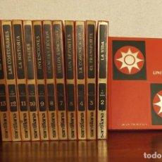 Enciclopedias de segunda mano: 13 TOMOS DE LA GRAN TRAVESIA, SANTILLANA. Lote 74599455