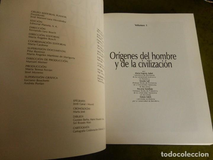 Enciclopedias de segunda mano: HISTORIA UNIVERSAL. PLANETA, 1995.SIN LEER - Foto 3 - 75253611