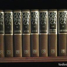 Enciclopedias de segunda mano: ENCICLOPEDIA GEOGRAPHICA - 10 TOMOS - PLAZA & JANES, 1969. Lote 75690359