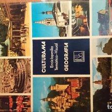 Enciclopedias de segunda mano: ENCICLOPEDIA TEMATICO-VISUAL, GEOGRAFIA, CULTURAMA, NUM 1, 1981.. Lote 76541683