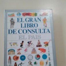 Enciclopedias de segunda mano: EL GRAN LIBRO DE CONSULTA-EDITA EL PAIS/ED. ALTEA-1995-TAPA DURA. Lote 178794795