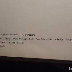 Enciclopedias de segunda mano: DICCIONARIO ENCICLOPEDICO SALVAT - 4 TOMOS - COMPLETO (1968). Lote 76708775