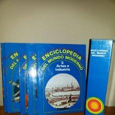 Enciclopedias de segunda mano: ENCICLOPEDIA DEL MUNDO MODERNO / 1981. Lote 76714507
