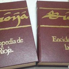 Enciclopedias de segunda mano: ENCICLOPEDIA DE LA RIOJA VOLUMEN I Y II AÑO 1983. Lote 77569487