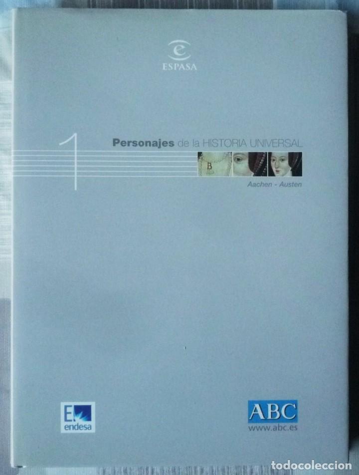 PERSONAJES DE LA HISTORIA UNIVERSAL (Libros de Segunda Mano - Enciclopedias)