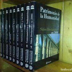 Enciclopedias de segunda mano: PATRIMONIO DE LA HUMANIDAD, UNESCO, EDITORIAL PLANETA, 9 TOMOS. Lote 159659166