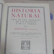 Enciclopedias de segunda mano: HISTORIA NATURAL. TOMO II. ZOOLOGIA (INVERTEBRADOS). 3º EDICION. INSTITUTO GALLACH. BARCELONA. 1947. Lote 79087713