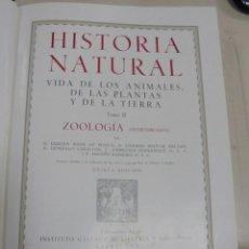 Enciclopedias de segunda mano: HISTORIA NATURAL. TOMO II. ZOOLOGIA (INVERTEBRADOS). 5º EDICION. INSTITUTO GALLACH. BARCELONA. 1960. Lote 79088081