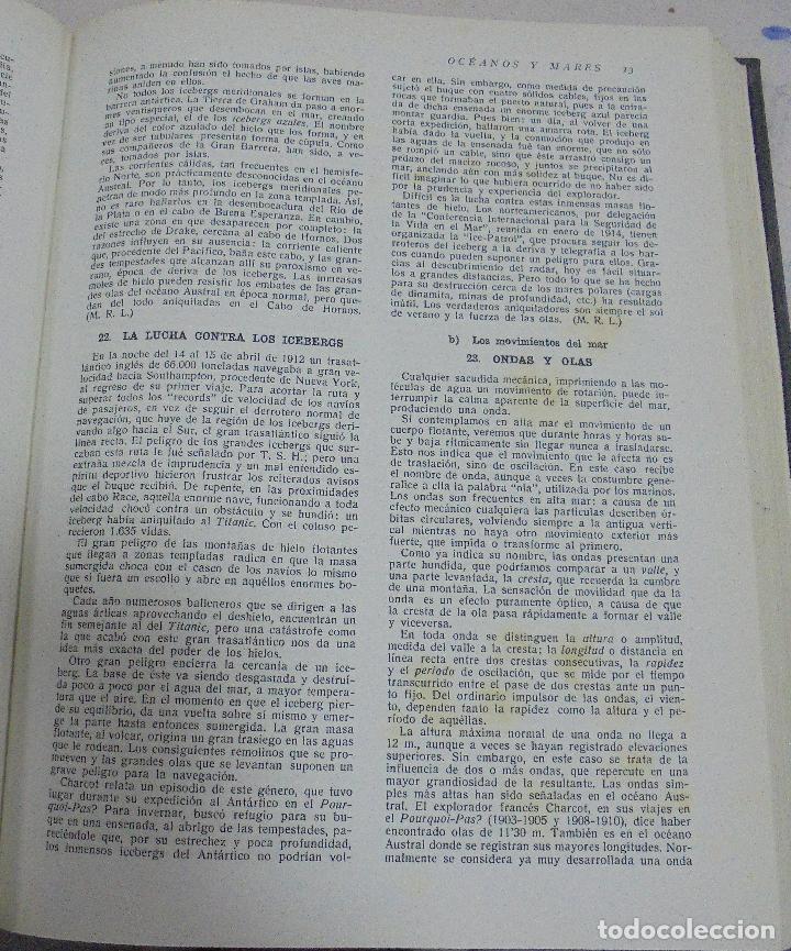 Enciclopedias de segunda mano: MIL ASPECTOS DE LA TIERRA Y DEL ESPACIO. TOMO I. LA TIERRA. GALLACH, BARCELONA. 1949 - Foto 2 - 79090565