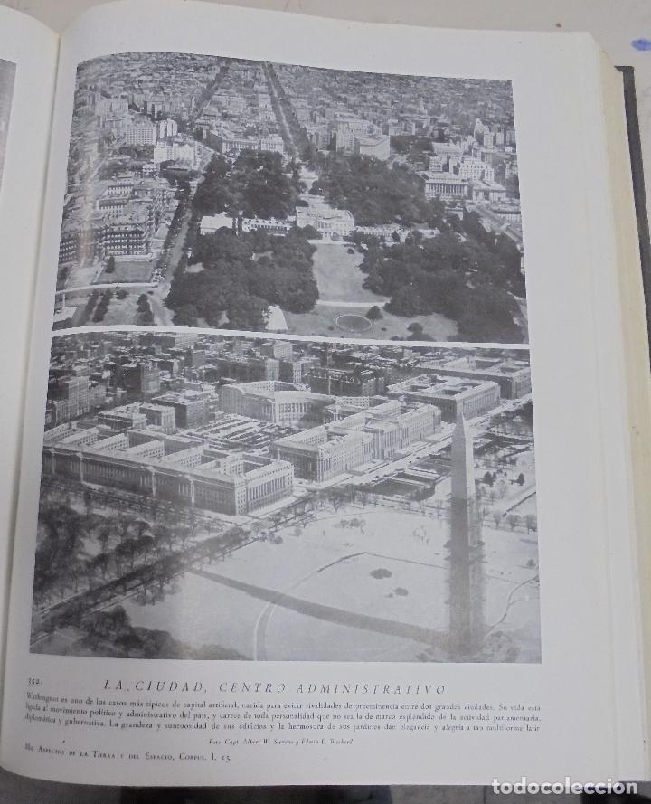 Enciclopedias de segunda mano: MIL ASPECTOS DE LA TIERRA Y DEL ESPACIO. TOMO I. LA TIERRA. GALLACH, BARCELONA. 1949 - Foto 4 - 79090565