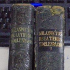 Enciclopedias de segunda mano: MIL ASPECTOS DE LA TIERRA Y DEL ESPACIO. DOS TOMOS. GALLACH, BARCELONA. LEER. Lote 79091077