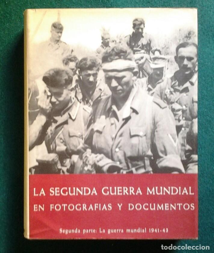 Enciclopedias de segunda mano: LA SEGUNDA GUERRA MUNDIAL EN FOTOGRAFIAS Y DOCUMENTOS. 6 TOMOS.PLAZA Y JANES 1973 - Foto 3 - 176884583