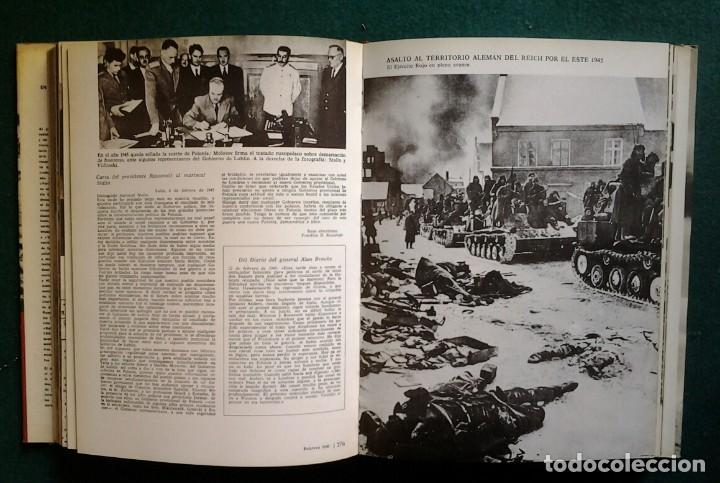 Enciclopedias de segunda mano: LA SEGUNDA GUERRA MUNDIAL EN FOTOGRAFIAS Y DOCUMENTOS. 6 TOMOS.PLAZA Y JANES 1973 - Foto 9 - 176884583