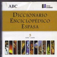 Enciclopedias de segunda mano: DICCIONARIO ENCICLOPEDICO ESPASA Nº 3 + GRANDES CIENTIFICOS Nº 2 . EDIT ABC PRECINTADO. Lote 80524889