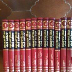 Enciclopedias de segunda mano: LIBROS,ENCICLOPEDIA MARAVILLAS DEL SABER - 12 TOMOS COMPLETA - CREDSA 1979 - CASI 3800 PÁGINAS ENCIC. Lote 80612414