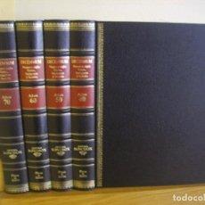 Enciclopedias de segunda mano: DECENNIUM NUESTRO SIGLO / TEXTOS IMAGENES Y SONIDO - 4 TOMOS AÑOS 40 / 50 / 60 / 70 SISTEMA SONOBOX. Lote 80815211