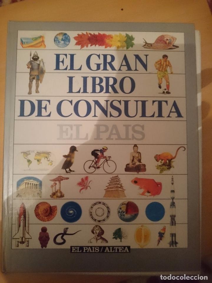EL GRAN LIBRO DE CONSULTA - ED EL PAIS - SOLO FALTA ENCUADERNARLO -REFMENOEN (Libros de Segunda Mano - Enciclopedias)