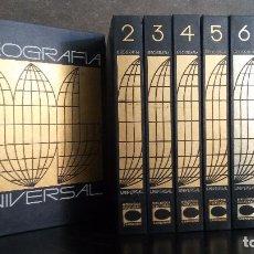 Enciclopedias de segunda mano: GEOGRAFIA UNIVERSAL 6 TOMOS.. CARROGGIO 1973. FERNANDO CARROGGIO (CREACION Y DIRECCION). Lote 83561880