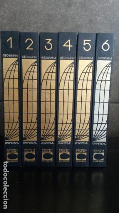 Enciclopedias de segunda mano: GEOGRAFIA UNIVERSAL 6 TOMOS.. CARROGGIO 1973. FERNANDO CARROGGIO (CREACION Y DIRECCION) - Foto 2 - 83561880