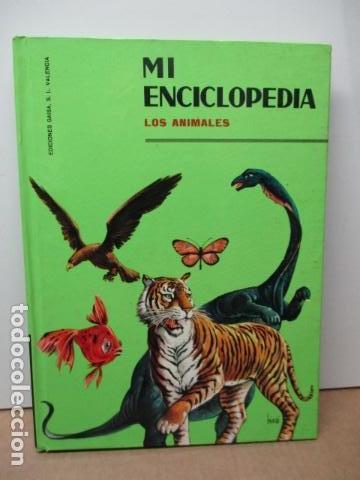 MI ENCICLOPEDIA LOS ANIMALES.-EDICIONES GAISA-S/F (Libros de Segunda Mano - Enciclopedias)