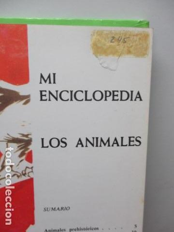 Enciclopedias de segunda mano: MI ENCICLOPEDIA LOS ANIMALES.-EDICIONES GAISA-S/F - Foto 7 - 83863420