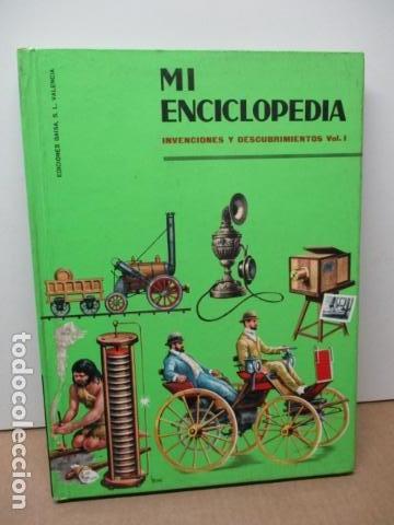 MI ENCICLOPEDIA - INVENCIONES Y DESCUBRIMIENTOS VOL I (VER FOTOS) (Libros de Segunda Mano - Enciclopedias)
