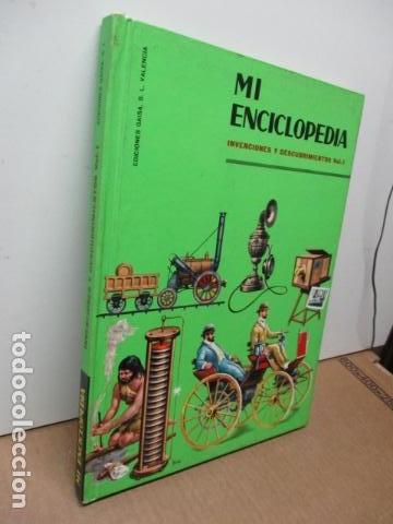 Enciclopedias de segunda mano: MI ENCICLOPEDIA - INVENCIONES Y DESCUBRIMIENTOS VOL I (ver fotos) - Foto 2 - 83863960