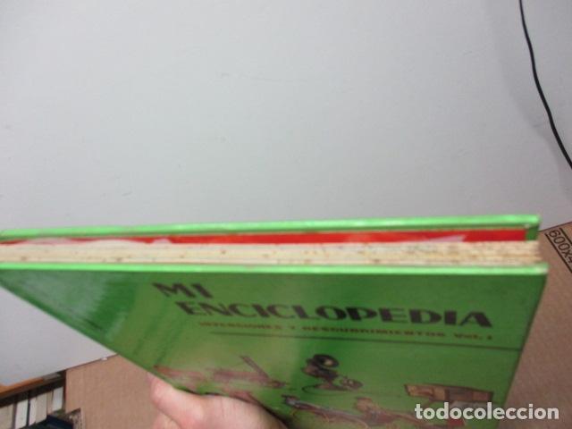 Enciclopedias de segunda mano: MI ENCICLOPEDIA - INVENCIONES Y DESCUBRIMIENTOS VOL I (ver fotos) - Foto 4 - 83863960