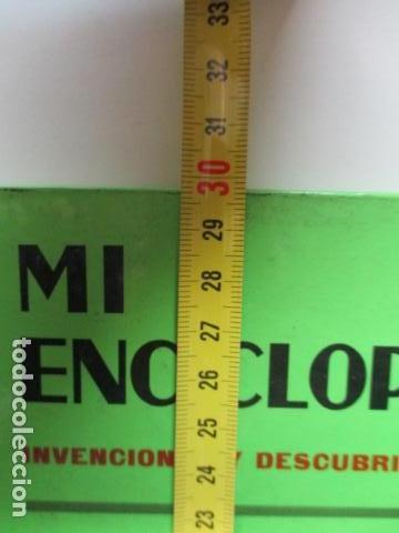 Enciclopedias de segunda mano: MI ENCICLOPEDIA - INVENCIONES Y DESCUBRIMIENTOS VOL I (ver fotos) - Foto 7 - 83863960