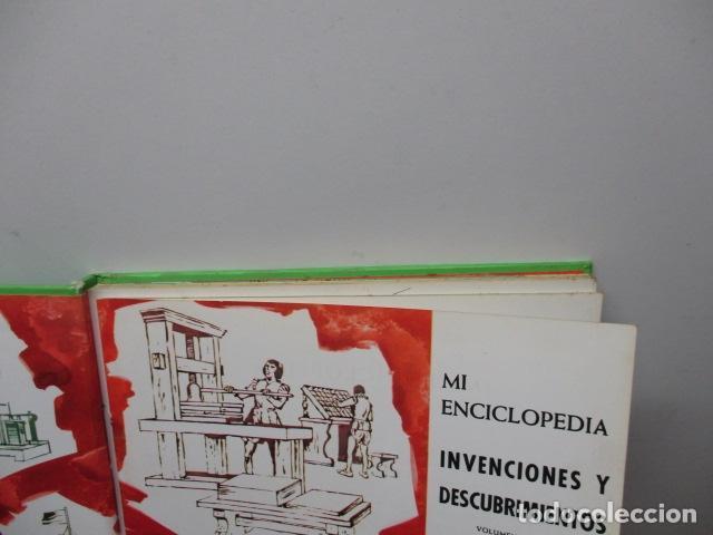 Enciclopedias de segunda mano: MI ENCICLOPEDIA - INVENCIONES Y DESCUBRIMIENTOS VOL I (ver fotos) - Foto 14 - 83863960