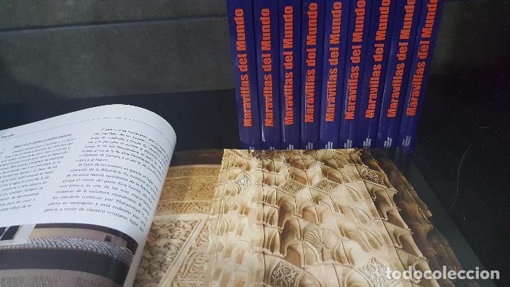 MARAVILLAS DEL MUNDO - 10 TOMOS - 2007 - EDICIONES AUPPER (Libros de Segunda Mano - Enciclopedias)