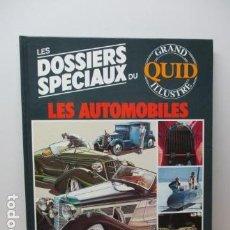 Enciclopedias de segunda mano: LES DOSSIERS SPECIAUX DU LES AUTOMOBILES - GRAND QUID ILLUSTRE - (EN FRANCES) - COMO NUEVO . Lote 85709056