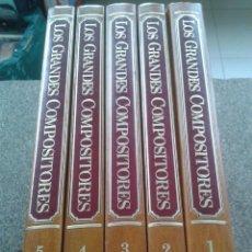 Enciclopedias de segunda mano: ENCICLOPEDIA SALVAT DE GRANDES COMPOSITORES -- 5 TOMOS - SALVAT - 1981 --. Lote 86536944
