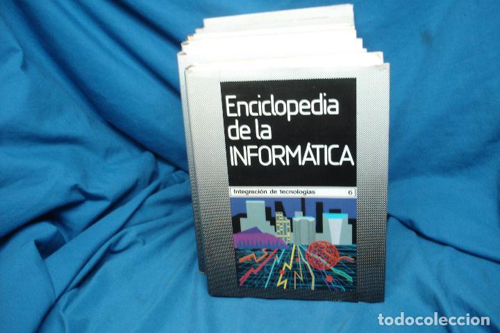 ENCICLOPEDIA DE LA INFORMÁTICA - ED. PLANETA 1ª EDICIÓN 1987 - 6 TOMOS (Libros de Segunda Mano - Enciclopedias)