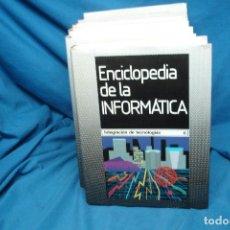 Enciclopedias de segunda mano: ENCICLOPEDIA DE LA INFORMÁTICA - ED. PLANETA 1ª EDICIÓN 1987 - 6 TOMOS. Lote 86733108