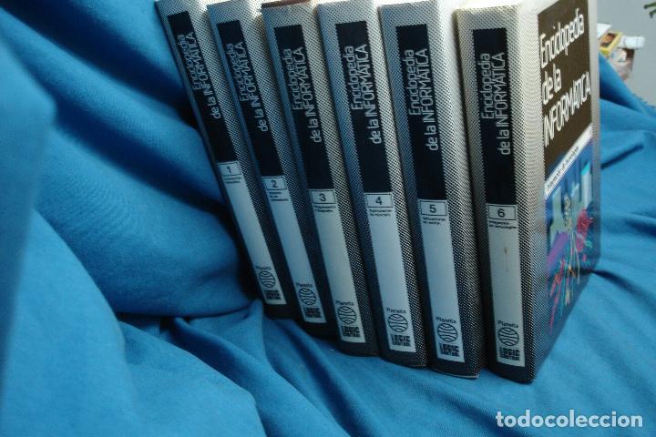 Enciclopedias de segunda mano: ENCICLOPEDIA DE LA INFORMÁTICA - ED. PLANETA 1ª EDICIÓN 1987 - 6 TOMOS - Foto 2 - 86733108