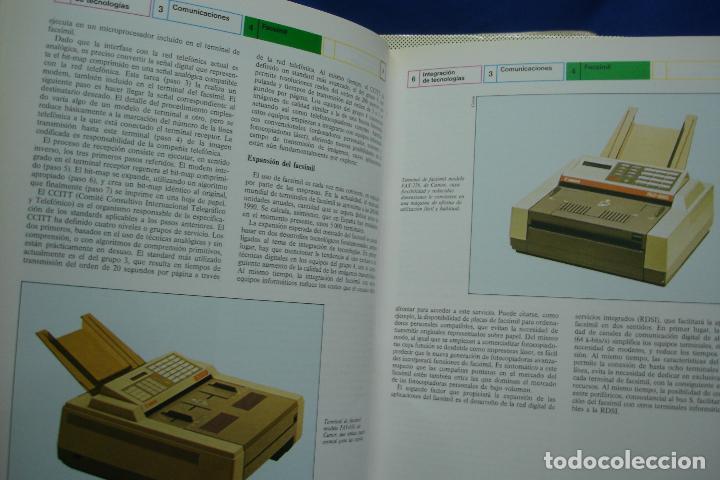 Enciclopedias de segunda mano: ENCICLOPEDIA DE LA INFORMÁTICA - ED. PLANETA 1ª EDICIÓN 1987 - 6 TOMOS - Foto 3 - 86733108