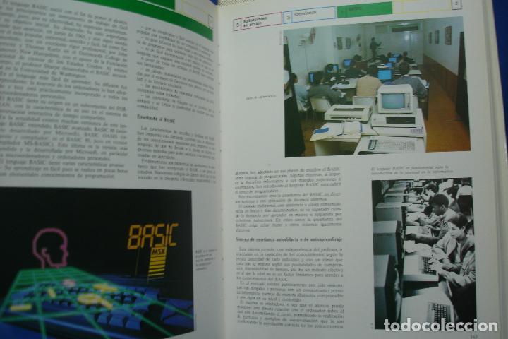 Enciclopedias de segunda mano: ENCICLOPEDIA DE LA INFORMÁTICA - ED. PLANETA 1ª EDICIÓN 1987 - 6 TOMOS - Foto 4 - 86733108