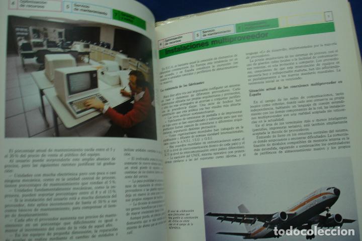 Enciclopedias de segunda mano: ENCICLOPEDIA DE LA INFORMÁTICA - ED. PLANETA 1ª EDICIÓN 1987 - 6 TOMOS - Foto 5 - 86733108
