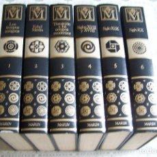 Enciclopedias de segunda mano: GEOGRAFÍA UNIVERSAL MARIN. COMPLETA, 6 VOLÚMENES.1979.. Lote 87540344